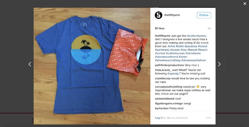 Instagram Produktvermarktung